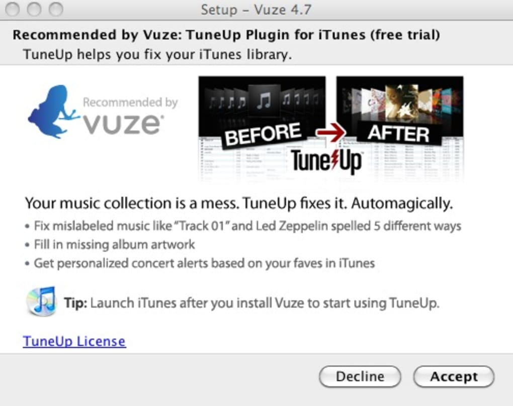 Vuze (Azureus) for Mac - Download