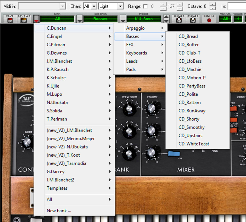 Minimoog for Mac - Download