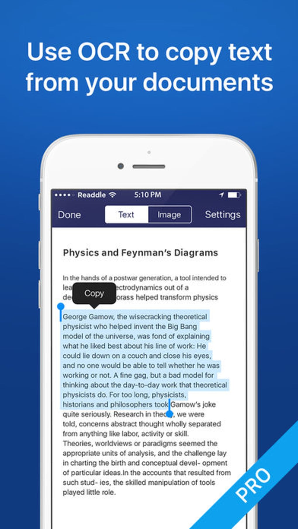 Scanner Mini - PDF document scanner with OCR for iPhone