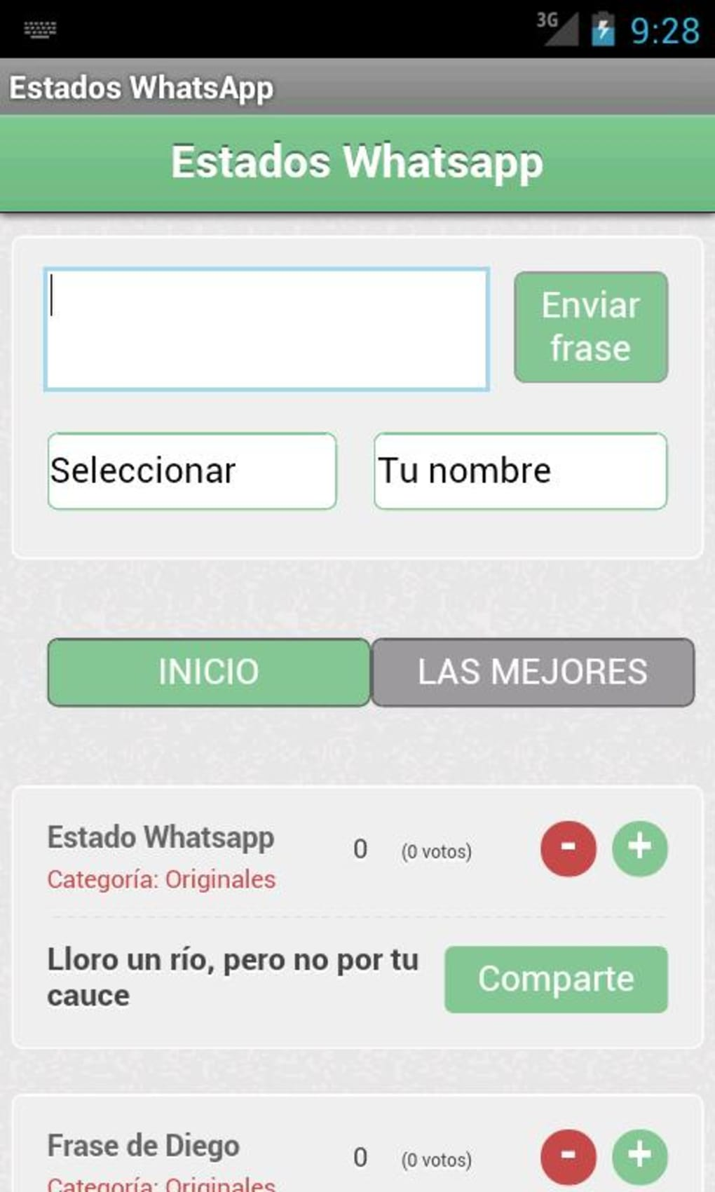 Frases Y Estados Whatsapp Para Android Descargar