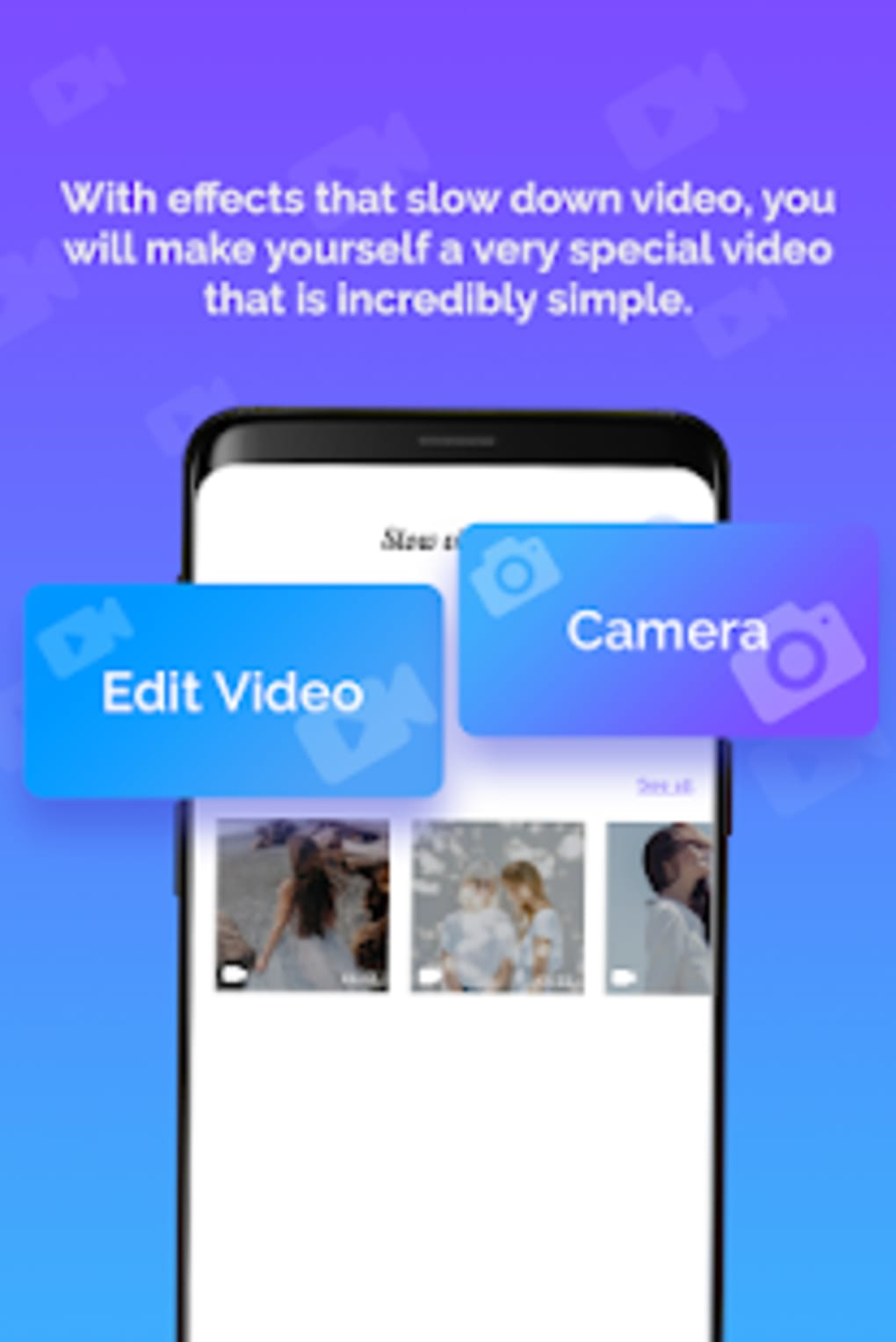 Slow Motion Video Editor Fast Slowmotion Video for Android