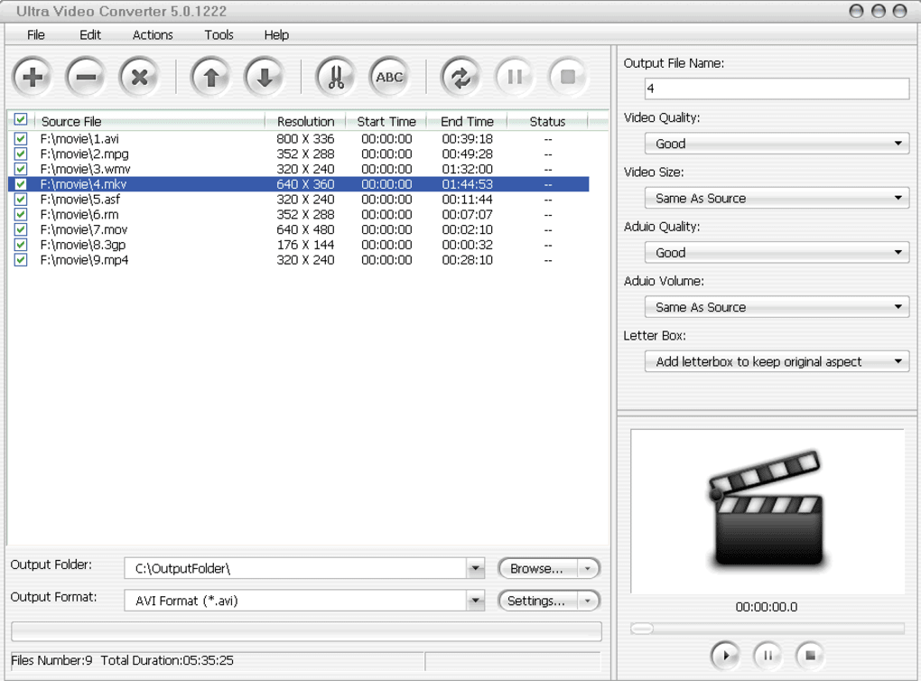 ultras video converter