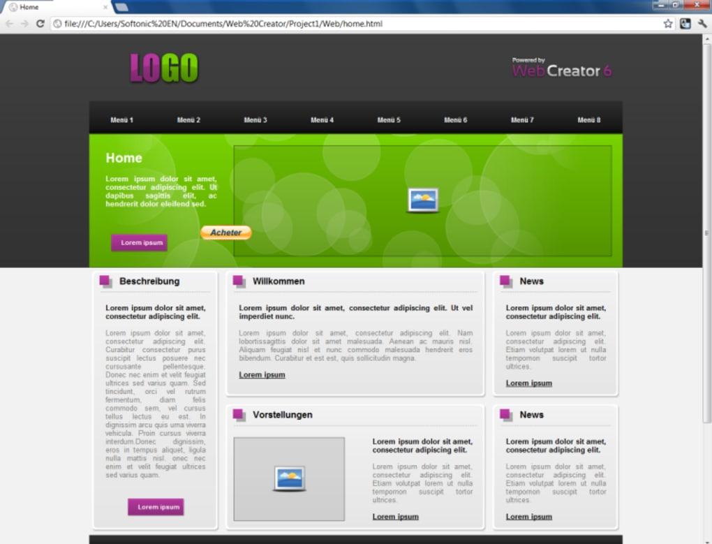 Web Creator Download