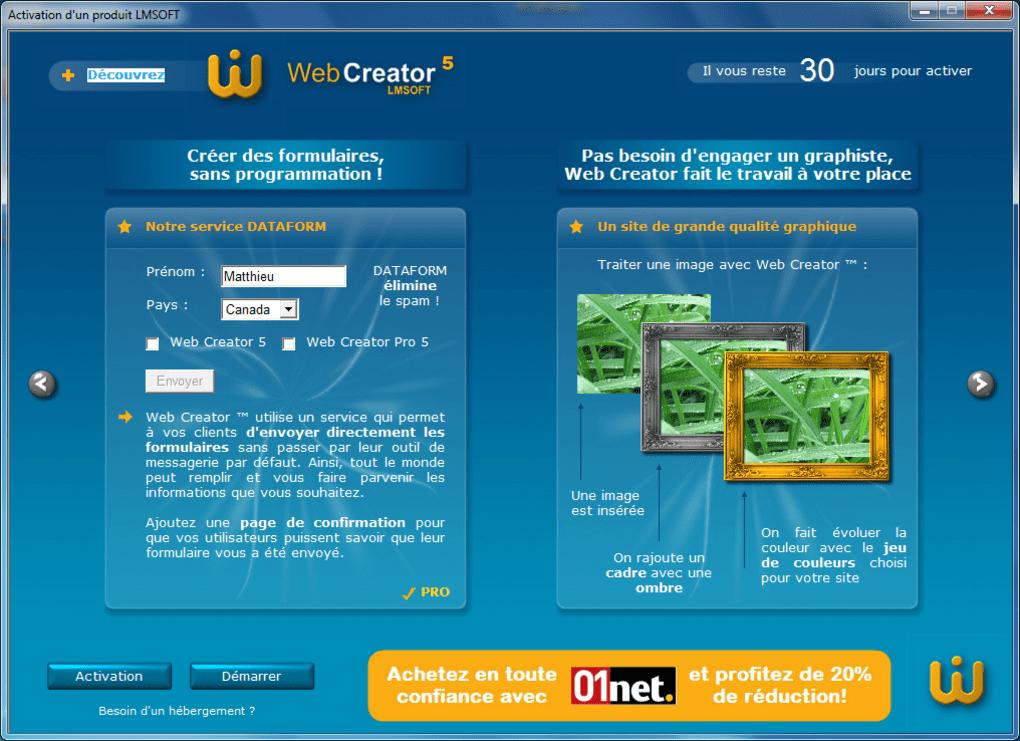 Web Creator - Télécharger