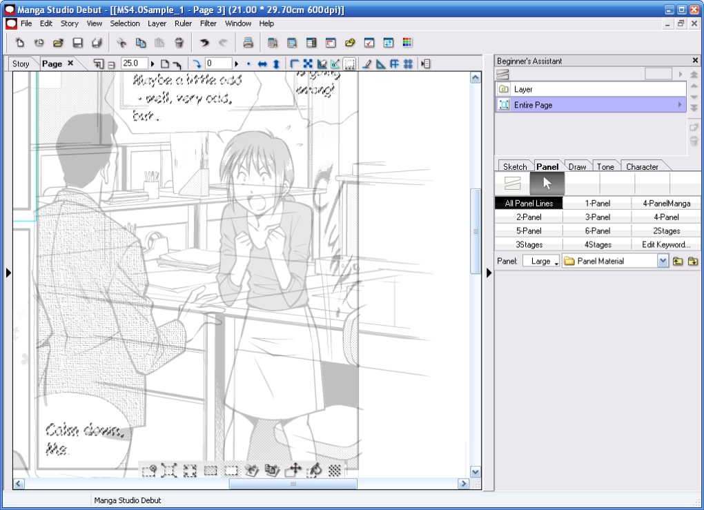 dessin manga studio