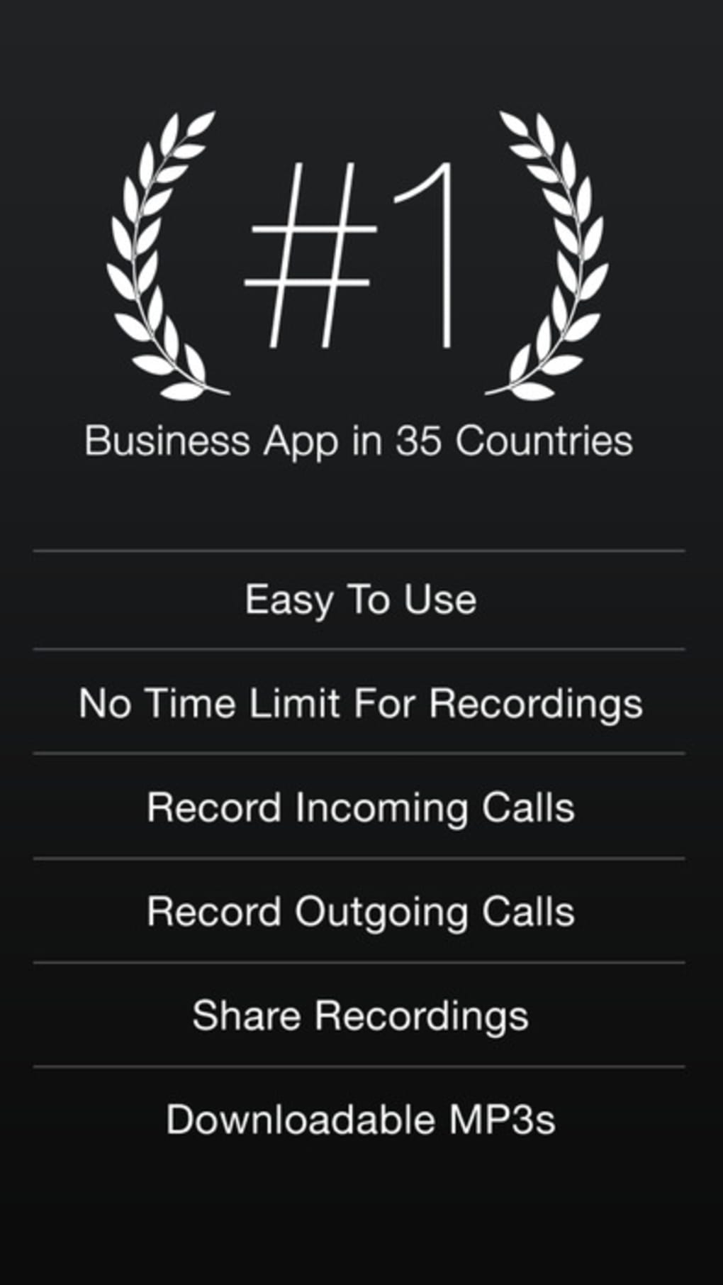 TapeACall Lite - Call Recorder For Phone Calls for iPhone - Download