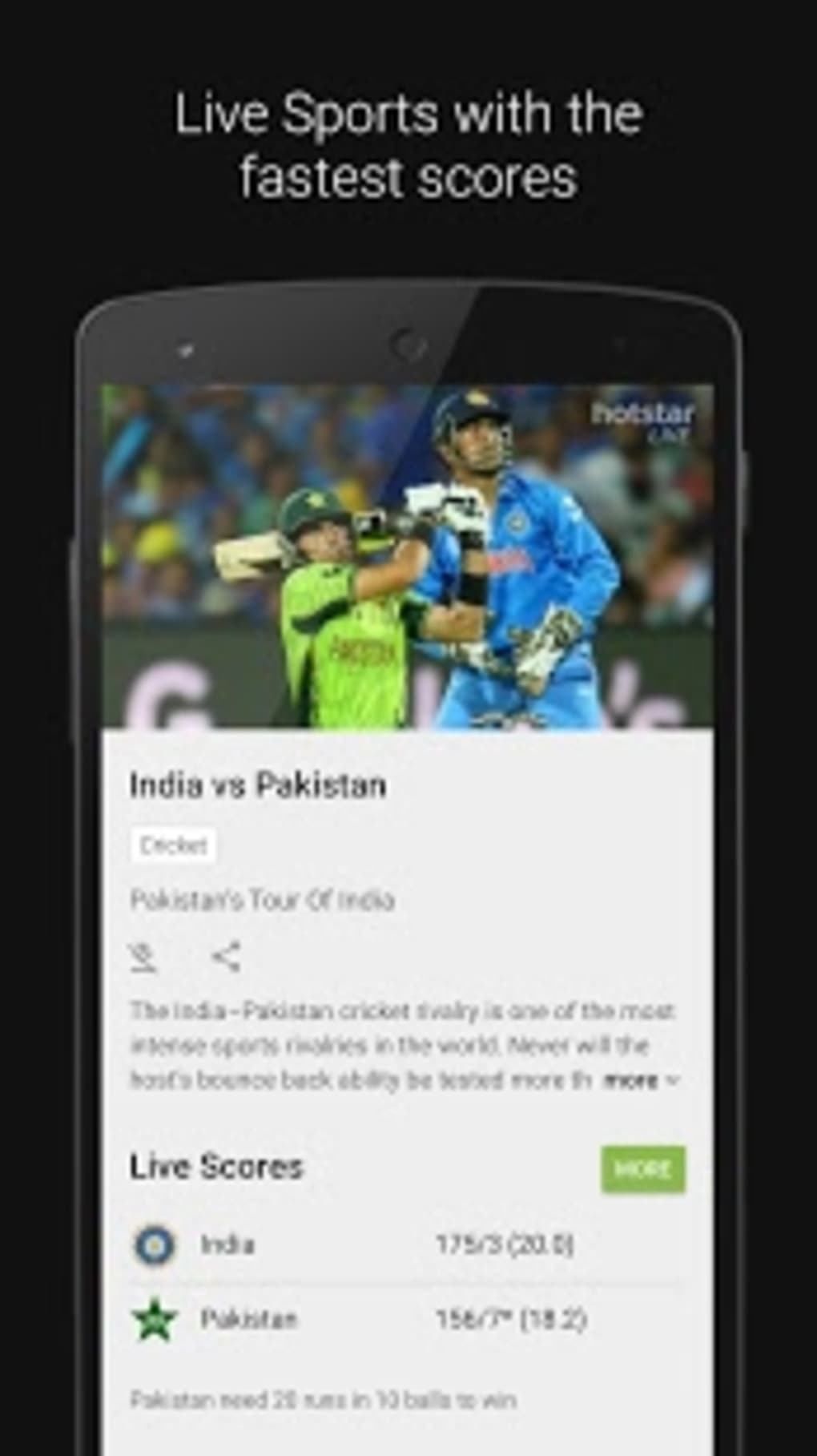 hotstar live tv movies cricket free download