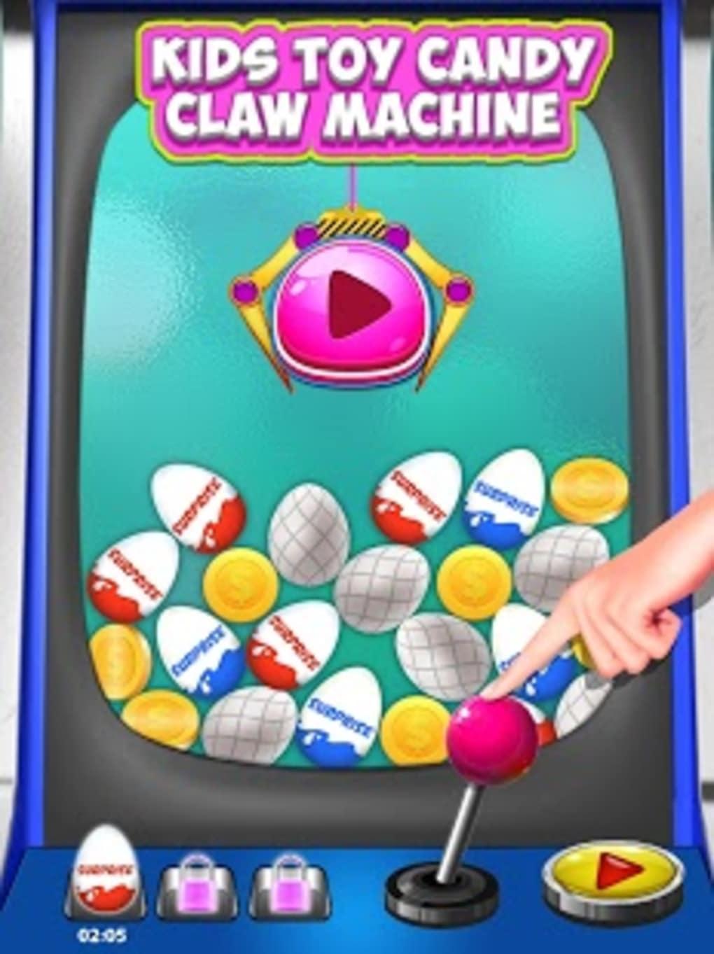 Kids Toy Candy Claw Machine
