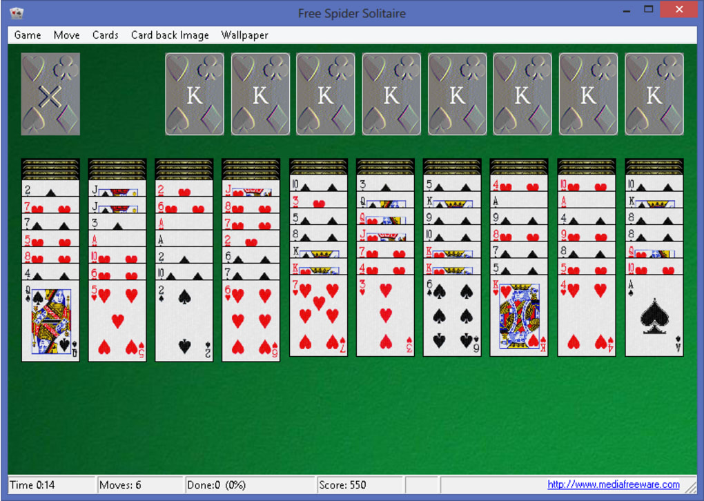 Spider Solitaire Collection Free for Windows 10 (Windows ...