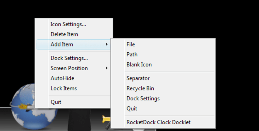 rocketdock 2011 pour windows 7