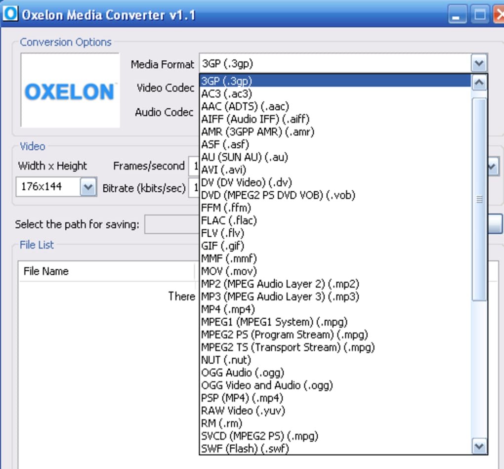 oxelon media converter gratuit