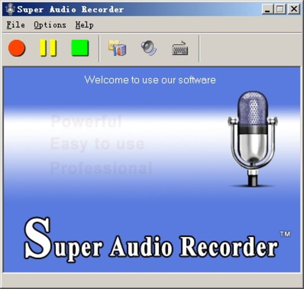 Super Audio Recorder - Download