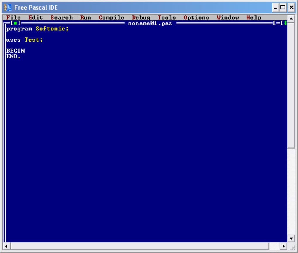 turbo pascal gratuit softonic