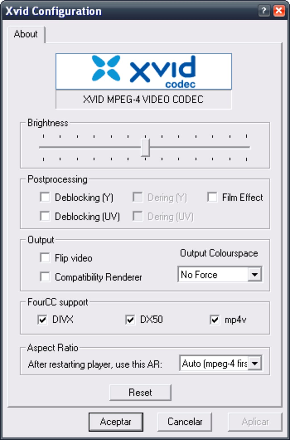 codec xvid pour virtualdub