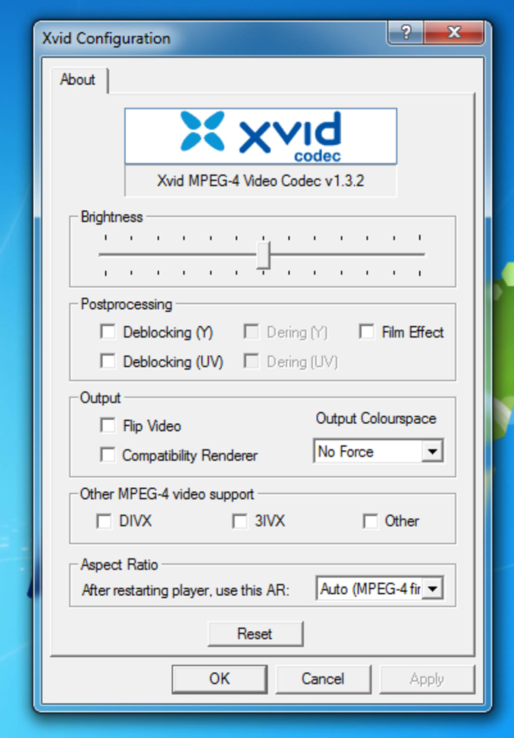 codec xvid media player