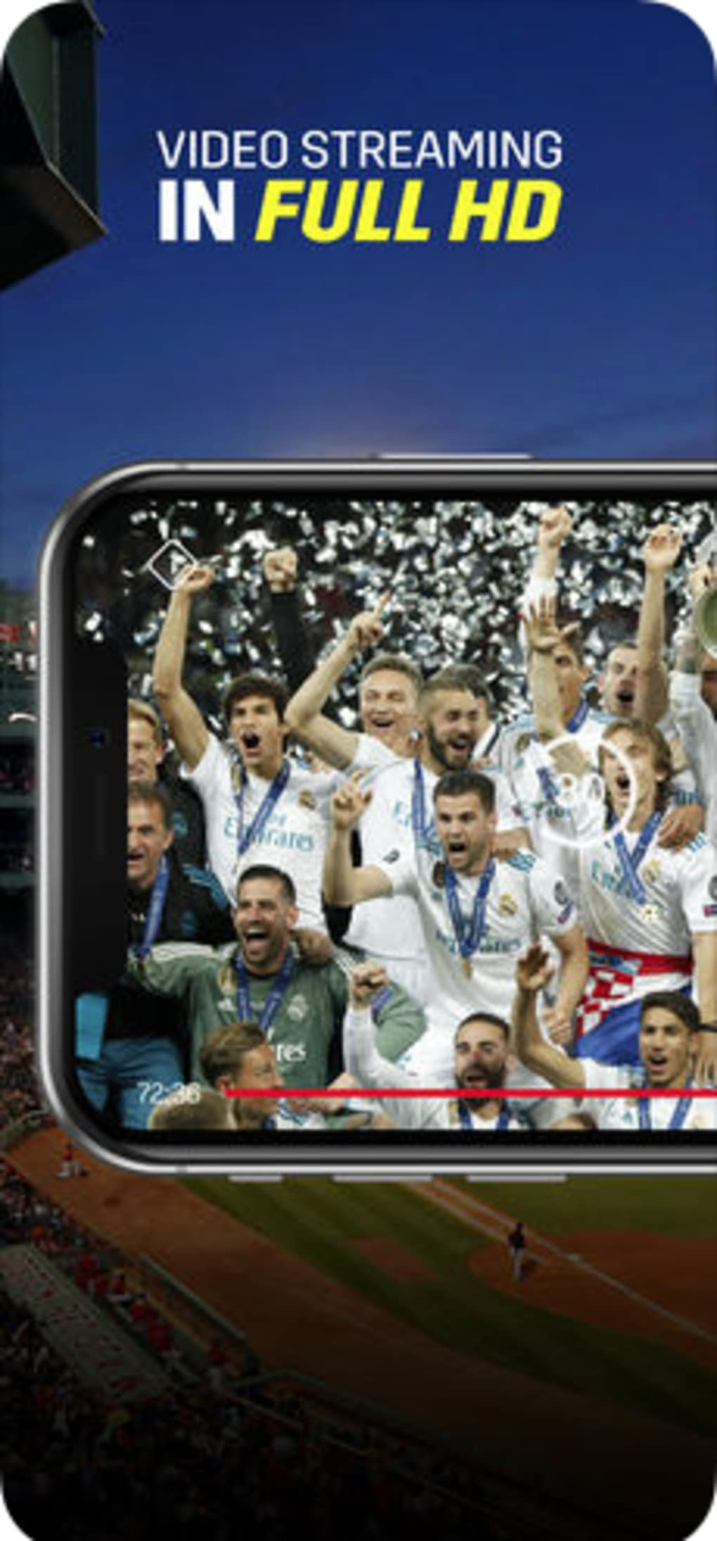 DAZN Live Sports Streaming for iPhone - Download