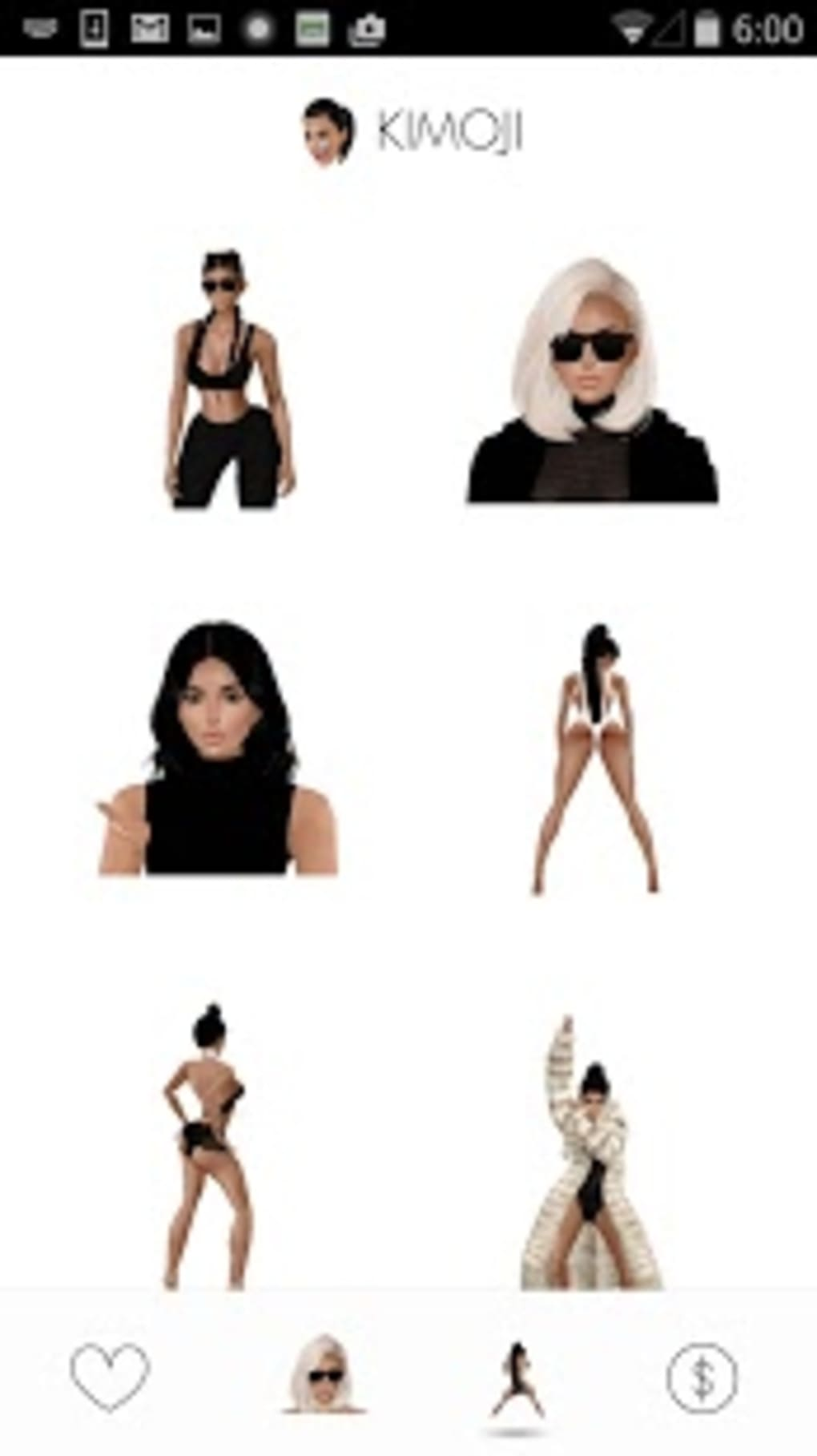 KIMOJI by Kim Kardashian West