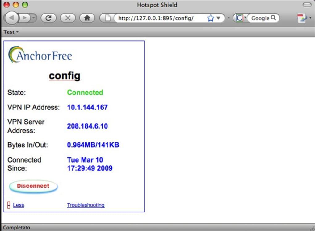 logiciel anchorfree