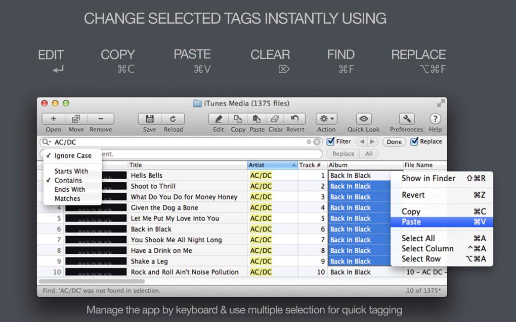 tag editor free for mac