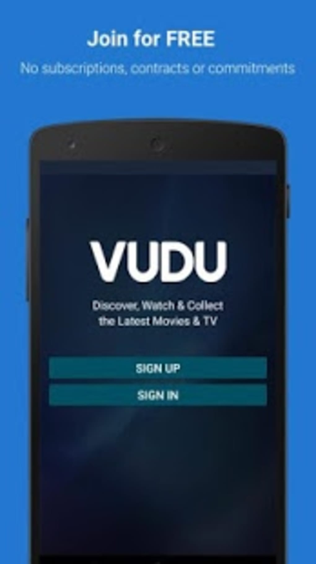download vudu movies to android