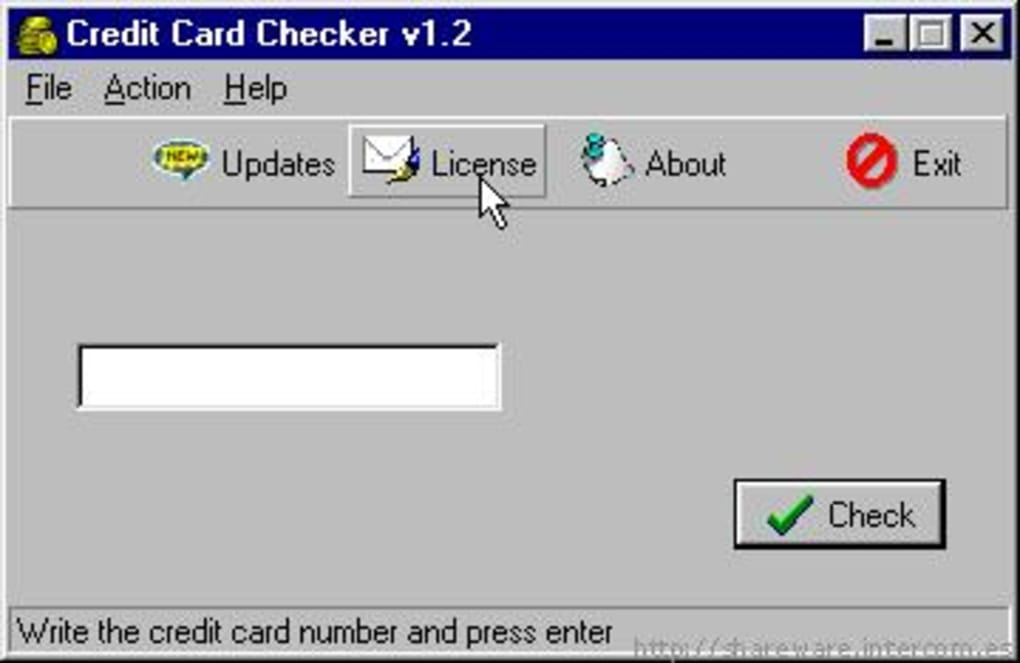 Credit Card Checker - Download