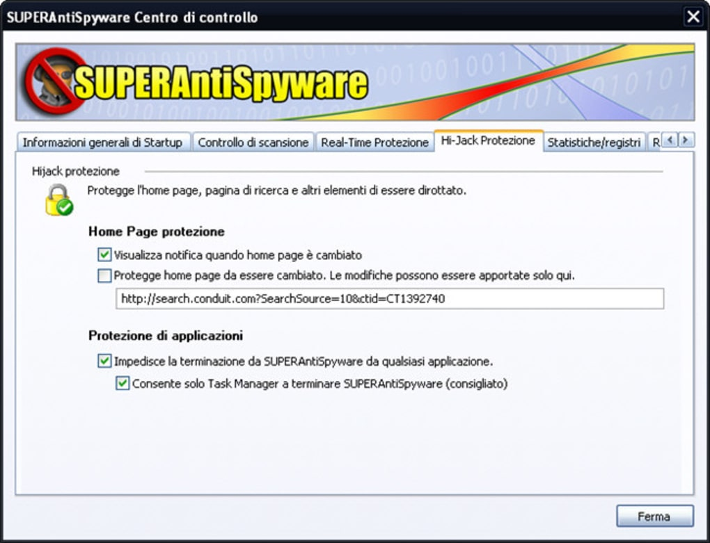 superantispyware free italiano