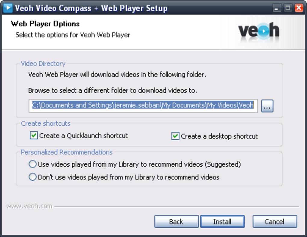 logiciel veohtv