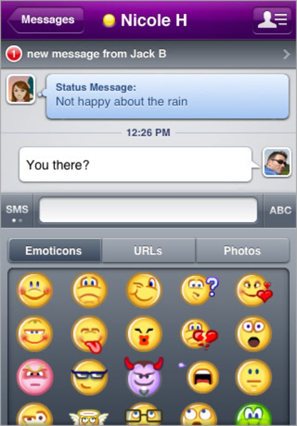 yahoo messenger for iphone yahoo messenger per iphone 16532