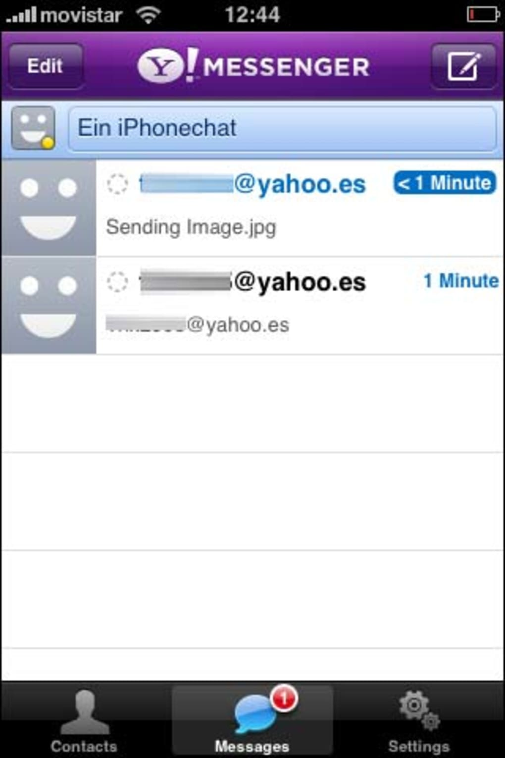 yahoo messenger for iphone yahoo messenger f 252 r iphone 16532