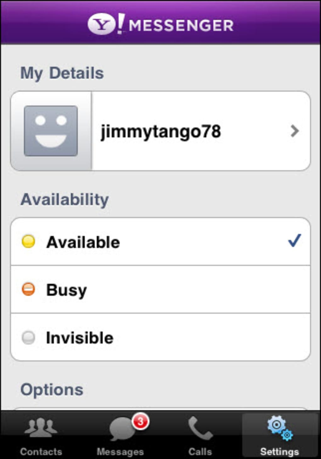 Yahoo! Messenger for iPhone - Download