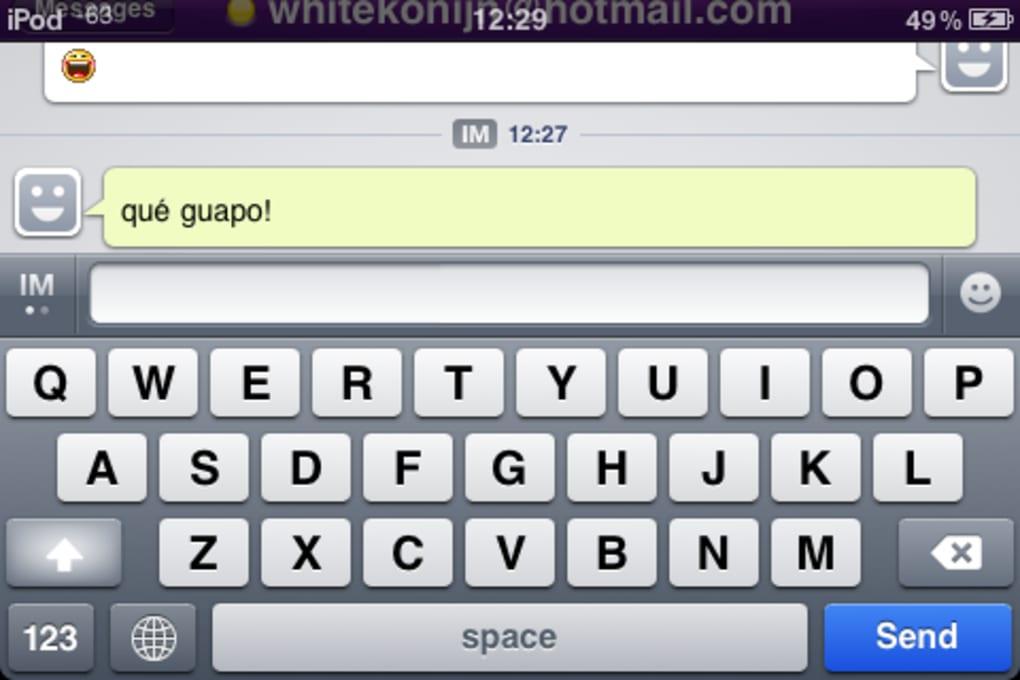 Yahoo Messenger Voor Iphone Download