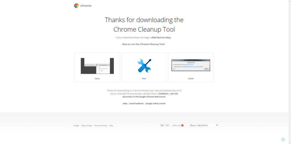 chrome cleanup tool - download