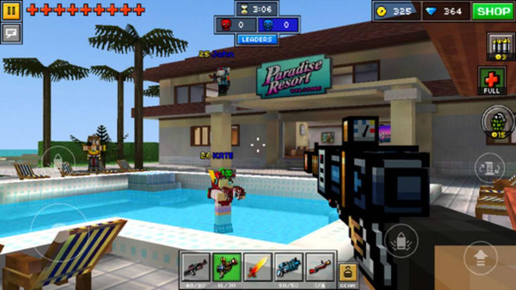 pixel gun world download free