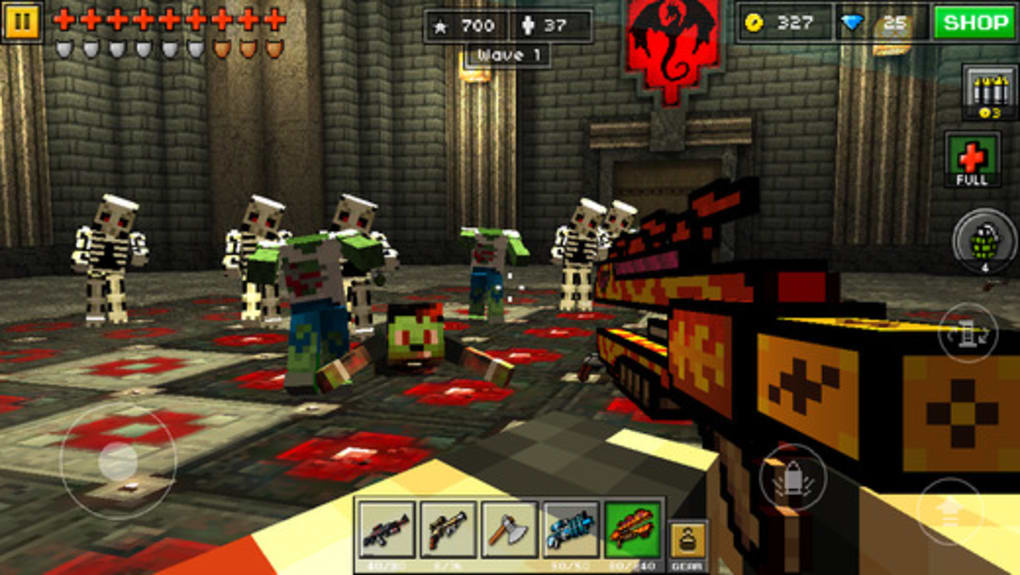 pixel gun 3d multiplayer shooter apk download