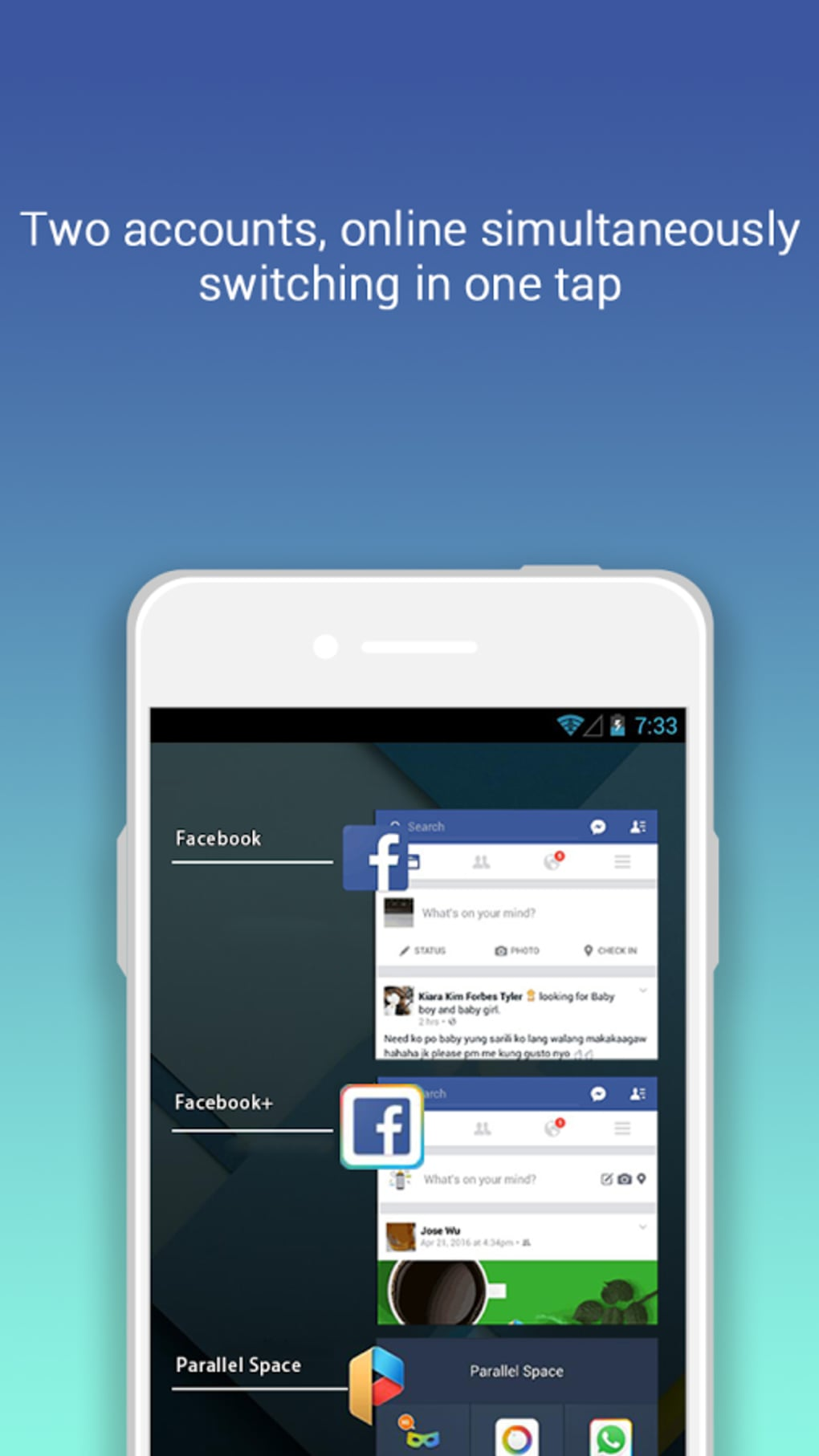 Parallel Space For Android Download