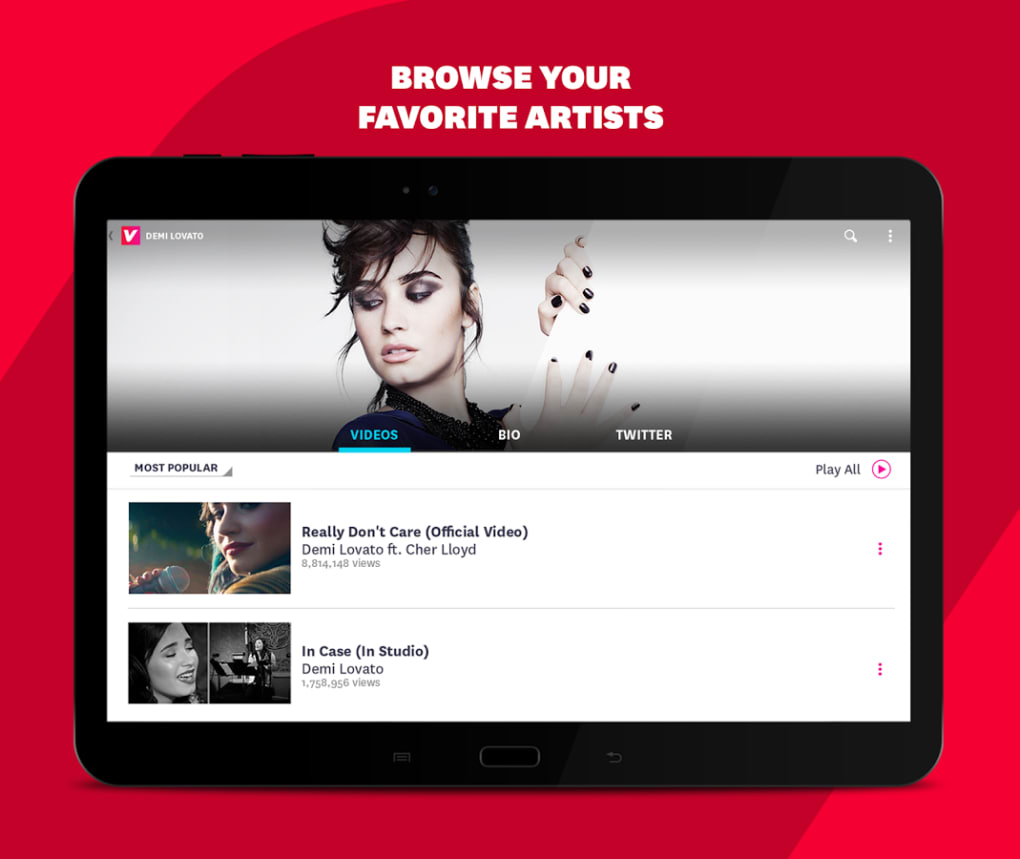 VEVO for Android - Download