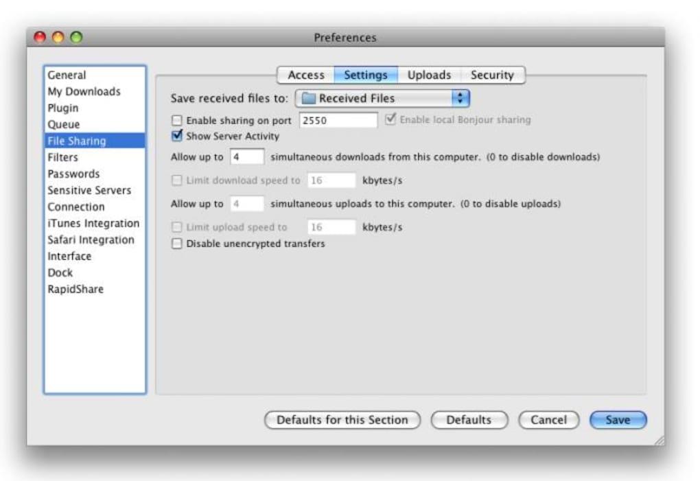 Speed Download para Mac - Descargar