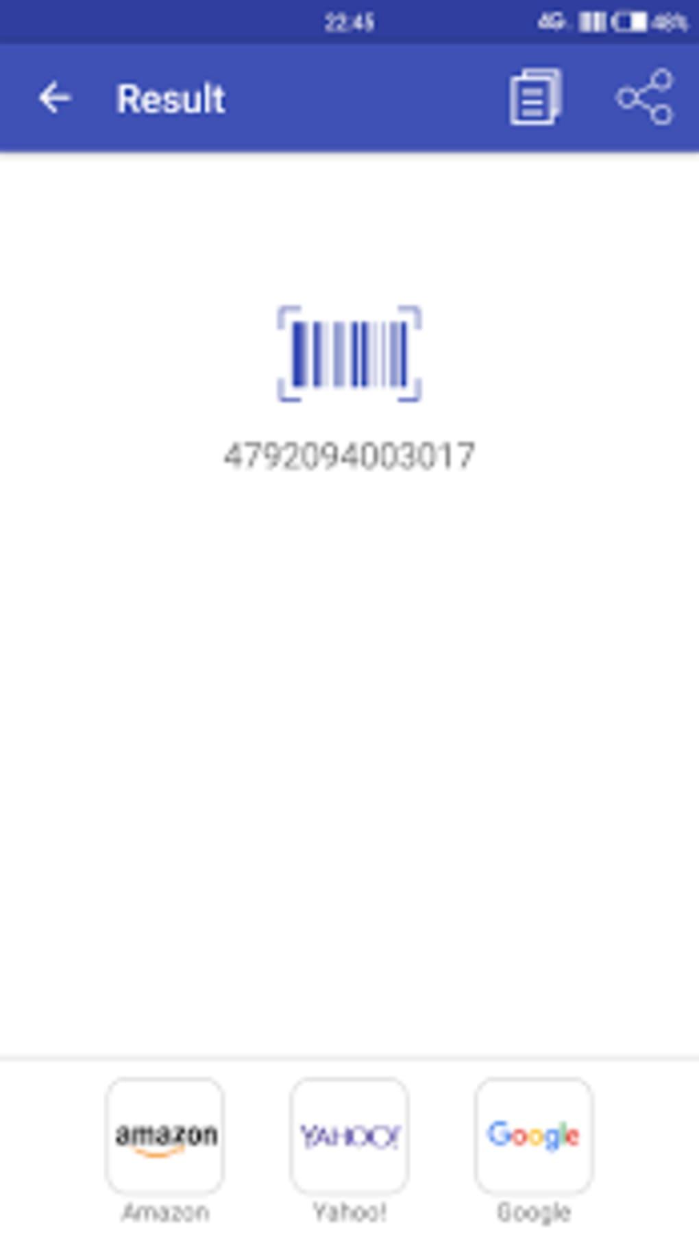 qr barcode scanner f r android download. Black Bedroom Furniture Sets. Home Design Ideas