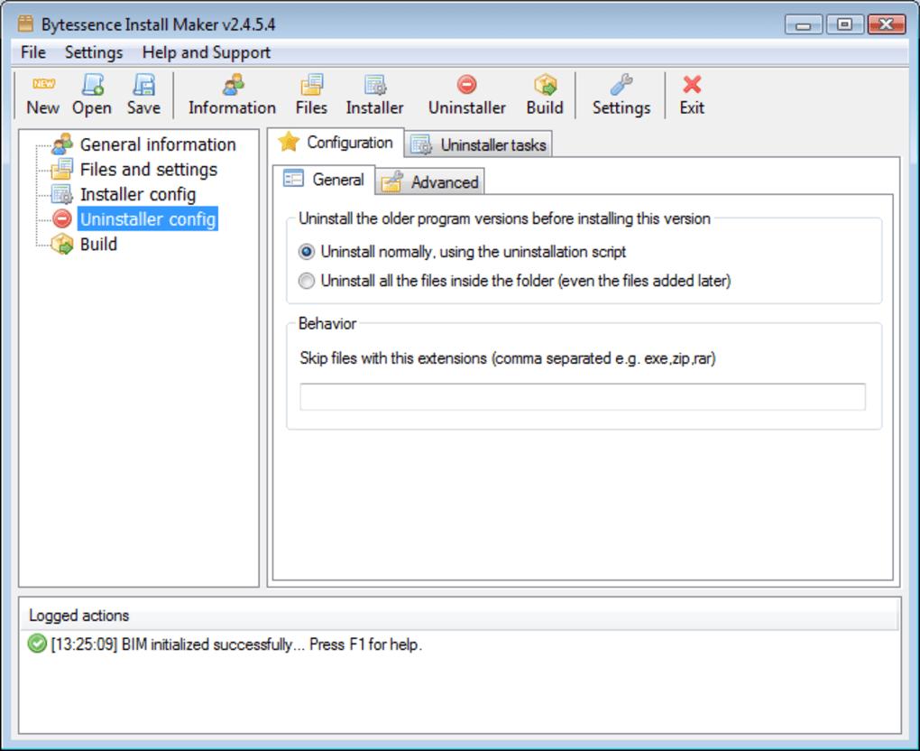 Bytessence Install Maker - Download