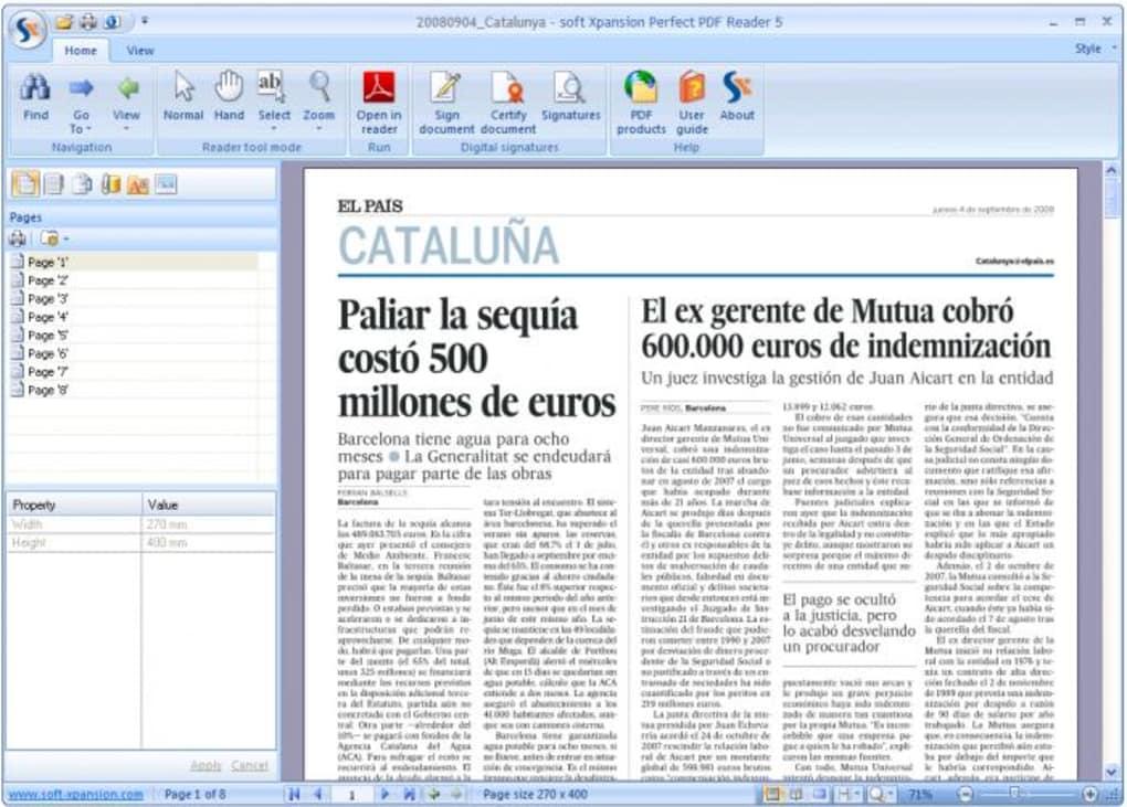 adobe reader pdf windows 7 softonic