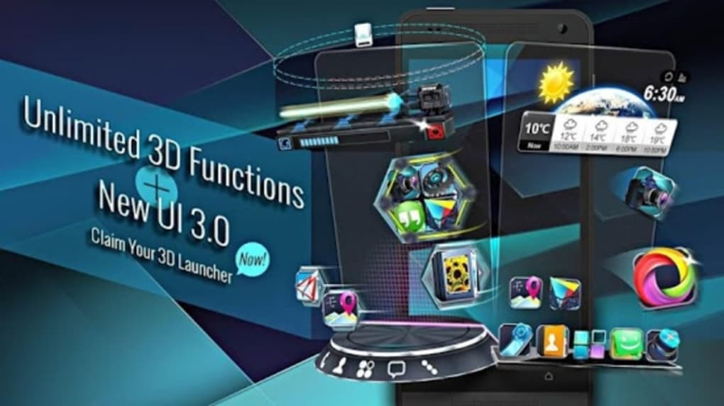 Next Launcher 3D Shell for Android - Download