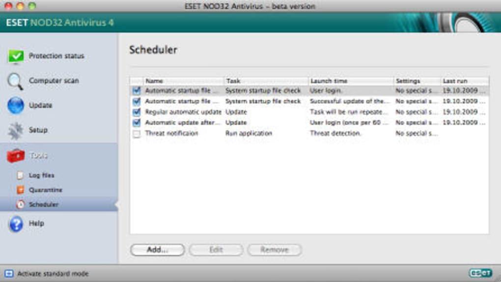 ESET CyberSecurity pour Mac - Télécharger