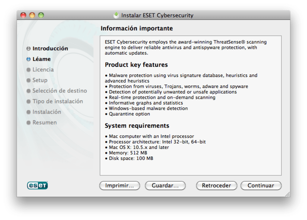 Eset Cybersecurity For Mac Download