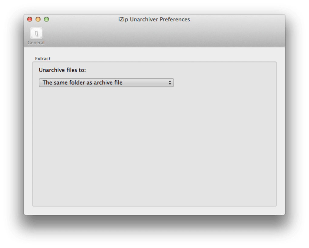 iZip Unarchiver for Mac - Download
