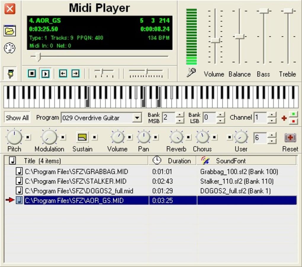 Soundfont Midi Player - Download