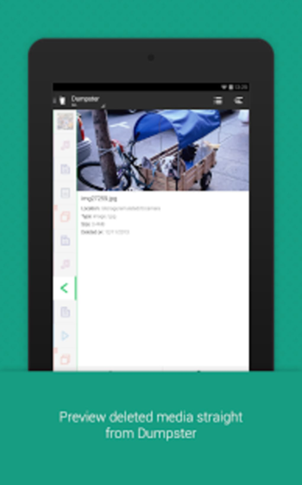 dumpster recycle bin for android download