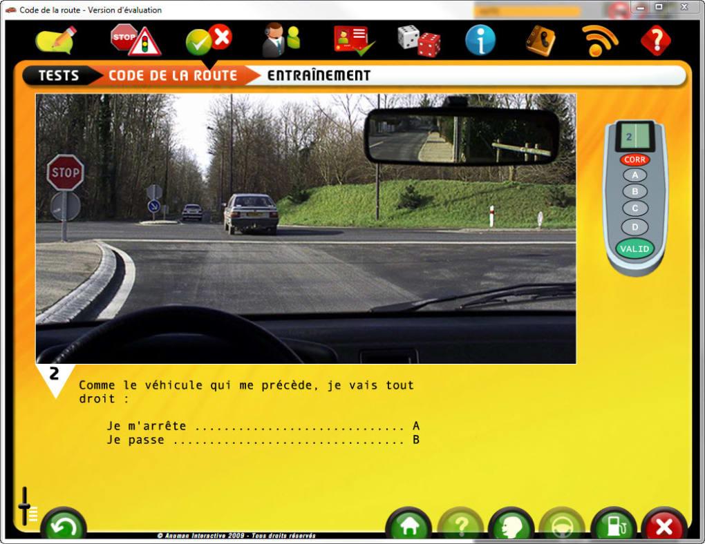 logiciel code de la route pratic gratuit maroc