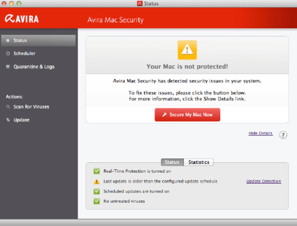 Avira Free Antivirus für Mac (Mac) - Download