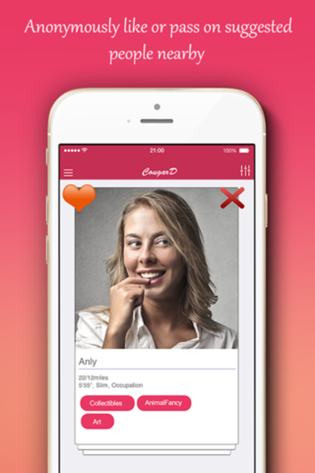 absoluut gratis Cougar dating site ze zegt dat we net dateren