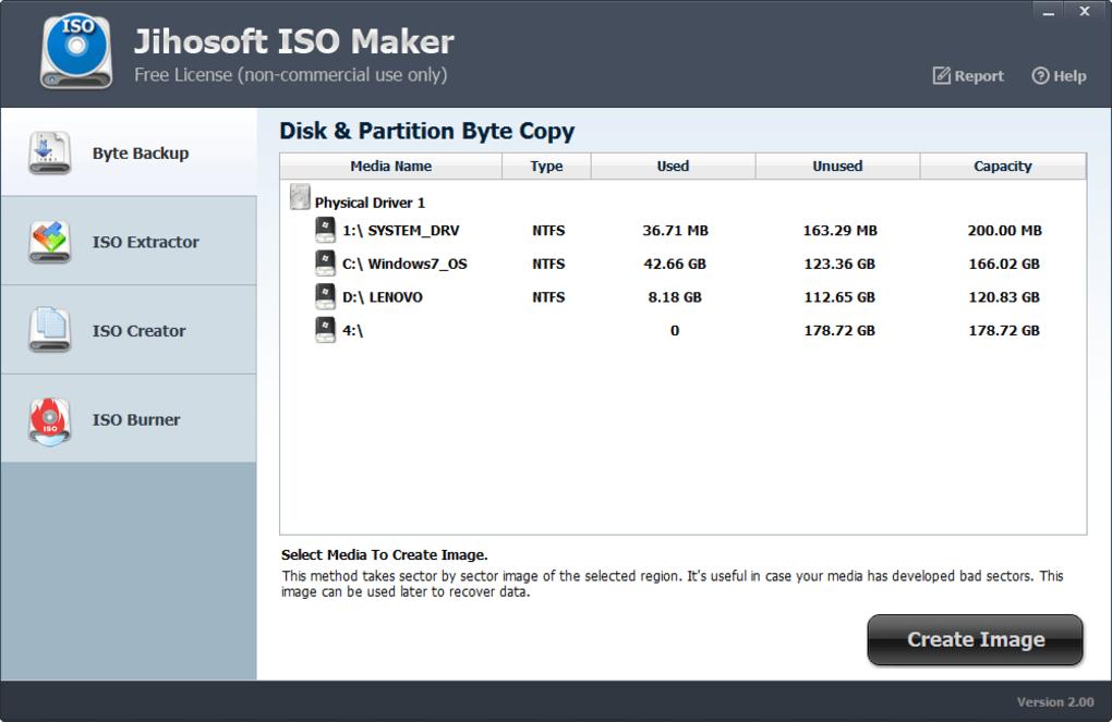 Jihosoft ISO Maker Free